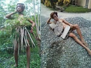 Khi bạn mê thời trang mà bố mẹ lại bắt đi làm đồng