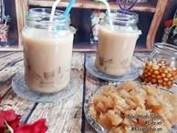 Cách làm trà sữa thạch mát lạnh con khen ngon, chồng hết khát mùa hè