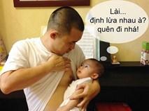 Chồng lười chăm con, hãy cho đọc ngay những lợi ích giật mình khi con được gần gũi bố