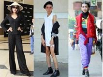 Muôn kiểu thời trang ĐỘC DỊ - GÂY SHOCK trong vòng casting của dàn thí sinh The Face 2018