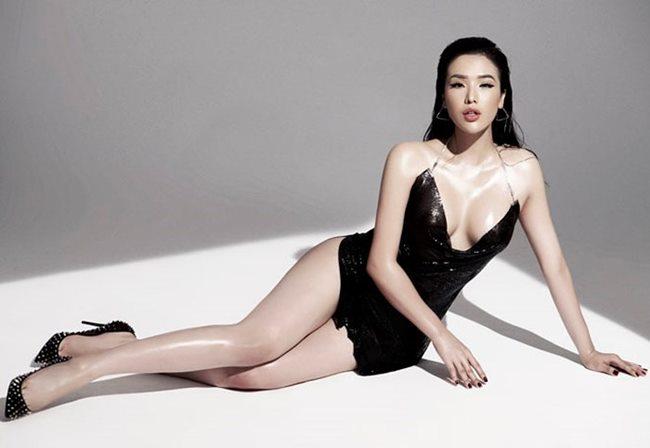 Hai chân dài vượt mặt Angela Phương Trinh khi có vòng ba hơn 1 mét-2
