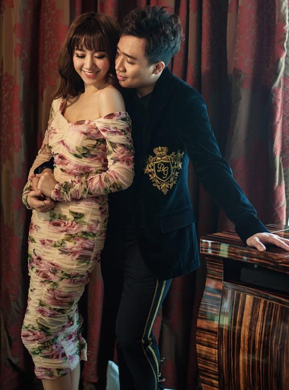 Kỉ niệm 17 tháng về chung nhà, Trấn Thành và Hari Won tung bộ ảnh tình bể bình-1