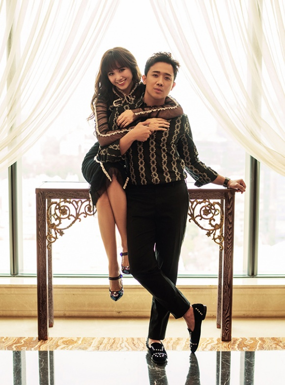 Kỉ niệm 17 tháng về chung nhà, Trấn Thành và Hari Won tung bộ ảnh tình bể bình-6