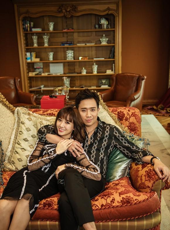 Kỉ niệm 17 tháng về chung nhà, Trấn Thành và Hari Won tung bộ ảnh tình bể bình-7