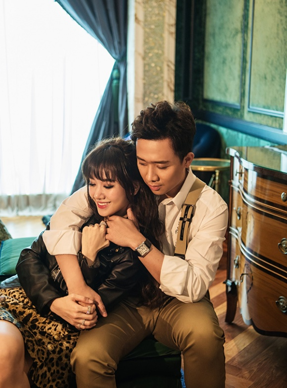 Kỉ niệm 17 tháng về chung nhà, Trấn Thành và Hari Won tung bộ ảnh tình bể bình-12