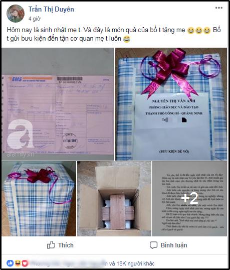 Quà sinh nhật chồng U50 tặng vợ được gói ghém cẩn thận khi mở ra ai cũng té ngửa, MXH sục sôi-1