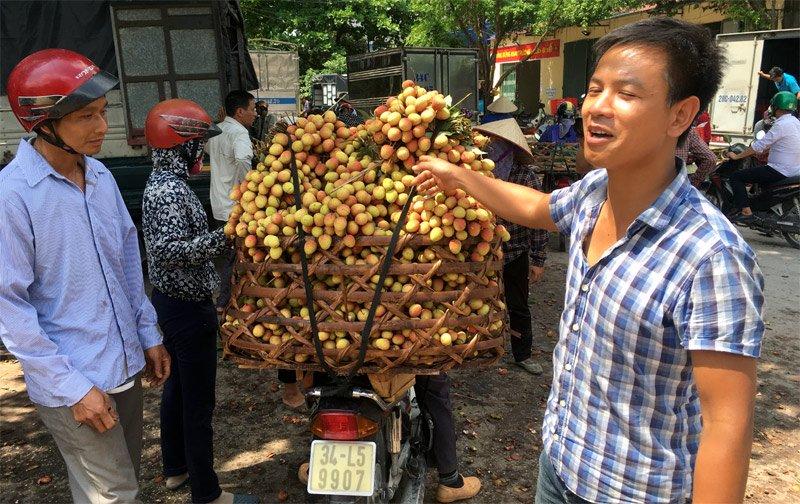 Tin đồn vải 10 ngàn/kg: Chỉ có ăn quả sâu, quả còi hạng bét-1