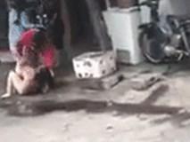 Cô gái bị vợ của nhân tình đánh trong tình trạng