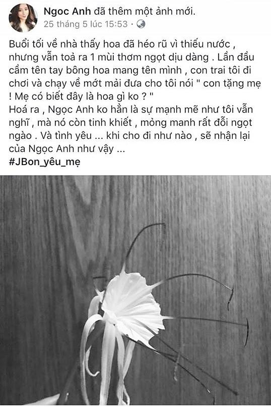 Nghi vấn cựu hot girl Ngọc Anh 8X đã chia tay chồng, làm mẹ đơn thân ở tuổi 30?-5