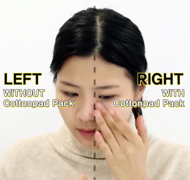 Con gái Hàn da đẹp mịn mướt là nhờ đắp thêm 2 miếng bông tẩy trang trước khi đánh kem nền hoặc cushion-8
