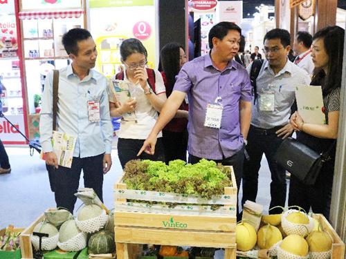 Nông sản VinEco gây ấn tượng tại hội chợ Thaifex 2018-2