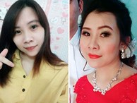 Cô dâu trẻ tuổi 20 nhắm mắt đưa mặt cho 'chuyên viên' trang điểm, mở mắt ra bỗng hóa bà cô già U40