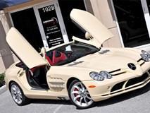 Mercedes SLR Roadster trắng ngà 'độc nhất vô nhị'