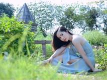 'Cá sấu chúa' Quỳnh Nga thả dáng ngọt ngào giữa thiên nhiên thơ mộng