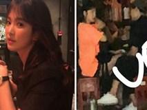 Vừa mới trở về từ Hong Kong, vợ chồng Song Joong Ki - Song Hye Kyo đã vội vàng sang Nhật du lịch