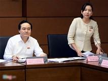 Bộ trưởng Phùng Xuân Nhạ trả lời chất vấn 3 vấn đề nóng của giáo dục
