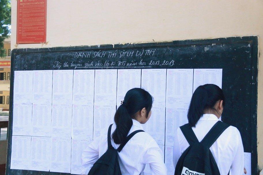 Thi lớp 10 ở Hà Nội: Có phòng thi chỉ 5 thí sinh-2