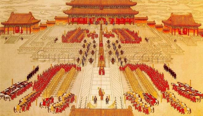 Bật mí đêm tân hôn của bậc đế vương: Muốn động phòng phải chờ người cởi xiêm y hộ-1