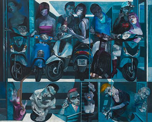 Triển lãm Tỏa 2: tụ hội 10 nghệ sĩ trẻ tài năng-3