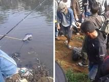 Tham gia cuộc thi câu cá, cần thủ đen đủi câu được thứ khủng khiếp ngoài tưởng tượng