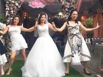 Khoe khoảnh khắc 'quẩy' cực sung trong đám cưới, cô dâu xinh đẹp được khen nhảy không kém dancer