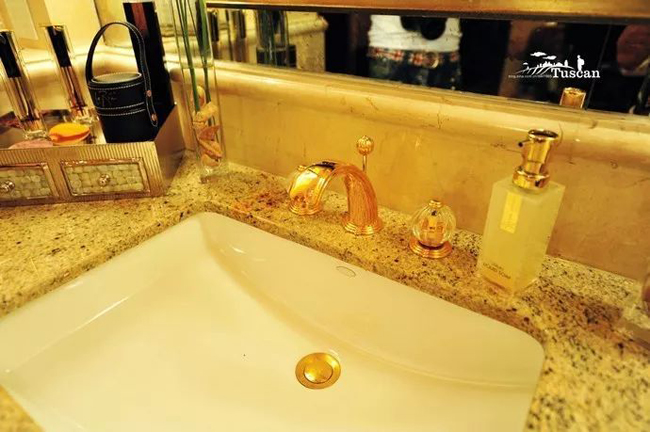 Giàu có như Dubai: Xà phòng trong khách sạn cũng phủ vàng-14