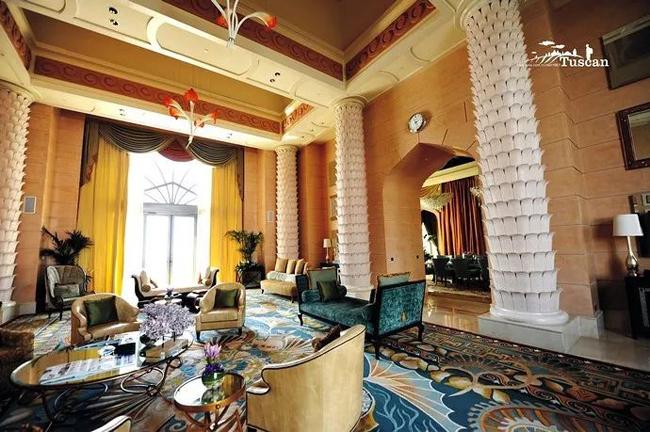 Giàu có như Dubai: Xà phòng trong khách sạn cũng phủ vàng-9
