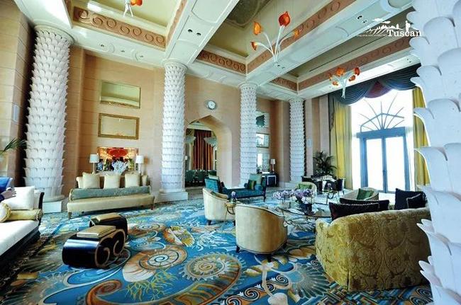 Giàu có như Dubai: Xà phòng trong khách sạn cũng phủ vàng-10
