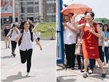 Làm được bài vì đề dễ, nhiều học sinh chạy như bay ra khỏi cổng trường đầu tiên để khoe với mẹ