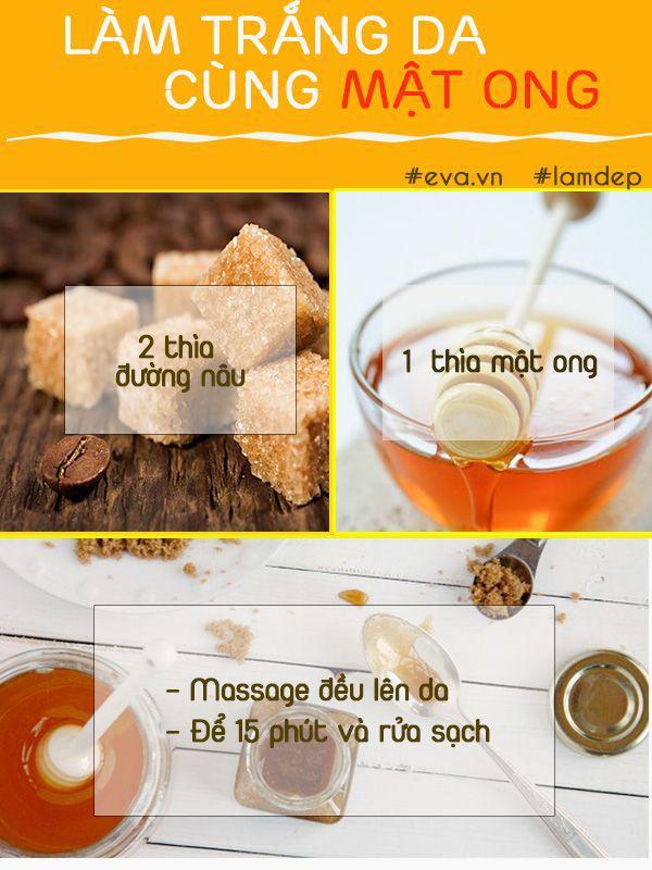Bất ngờ với cách làm trắng da bằng mật ong cực đơn giản nhưng đem lại kết quả thần kì-3