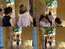 Sốc: Người 'lạ' ra vào như đi chợ ở điểm thi lớp 10 tại THCS Phan Đình Giót