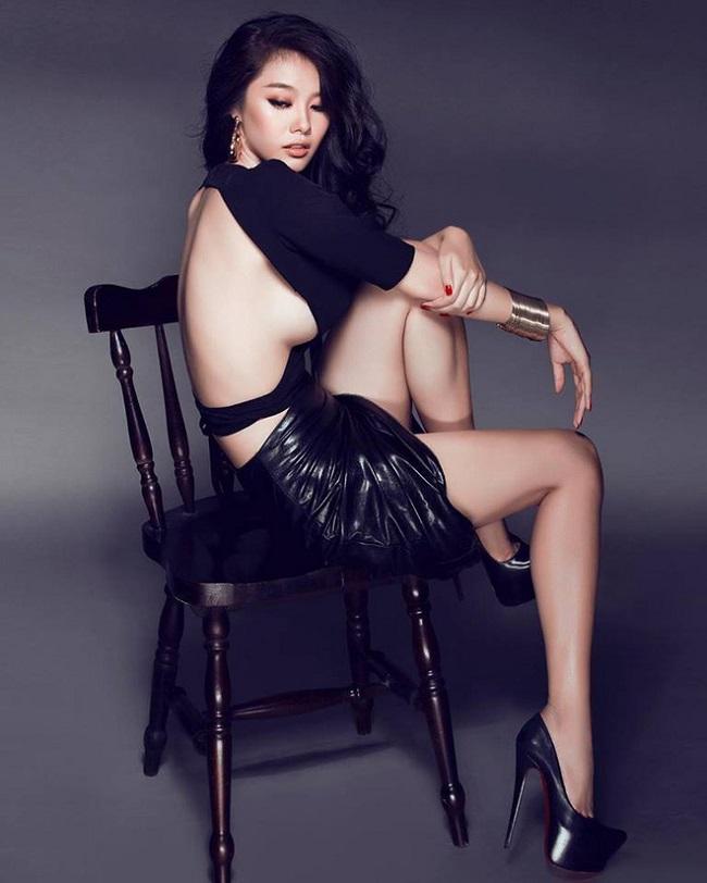Dàn mỹ nhân Việt mặc mốt lộ chân ngực: Ai soán ngôi được Thanh Bi?-7