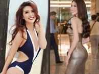 Hoa hậu Tường Linh tiết lộ bí quyết có vòng eo 53 'đánh bật' Ngọc Trinh