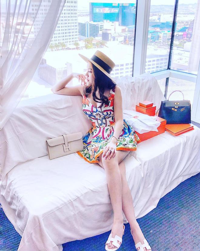 Hội con nhà giàu Việt tấp nập khoe ảnh đi nghỉ mát ngày hè-13