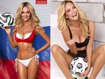 Hoa hậu Nga được ca ngợi là đại sứ World Cup đẹp và quyến rũ nhất lịch sử
