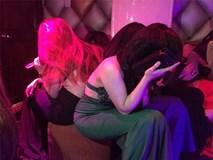 Đột kích nhiều điểm ăn chơi có hàng trăm nữ tiếp viên ăn mặc sexy