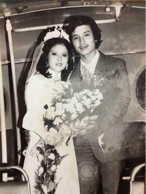 Ngắm loạt ảnh cưới những năm 80 - 90, bạn có nhận ra đây là sao Việt nào?-2