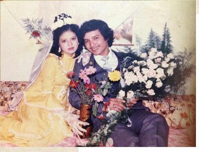 Ngắm loạt ảnh cưới những năm 80 - 90, bạn có nhận ra đây là sao Việt nào?-4
