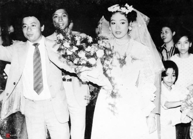 Ngắm loạt ảnh cưới những năm 80 - 90, bạn có nhận ra đây là sao Việt nào?-8