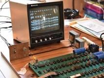 Chiếc máy tính đầu tiên của Apple được định giá 600.000 USD