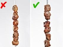 Nướng thịt mà cứ mắc những lỗi sai này thì muôn đời bạn không được thưởng thức xiên thịt nướng thơm ngon
