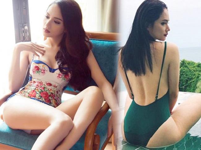15 hoa, á hậu phòng không đọ sắc áo tắm: Kỳ Duyên sexy nhất?-18