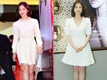 Sau bao nhiêu năm, Song Hye Kyo vẫn cứ mải miết diện một kiểu váy đơn giản