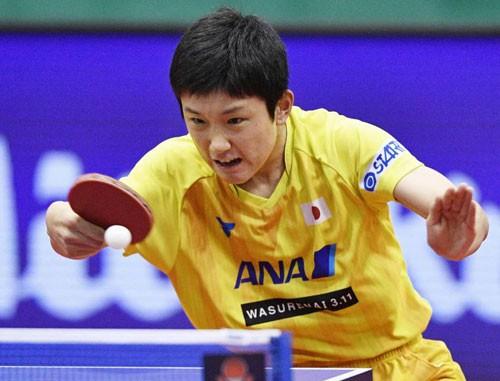 Thần đồng bóng bàn Nhật Bản gây sốc Trung Quốc-1