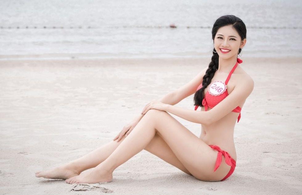 Vẻ gợi cảm của các hot girl VTV từng thi hoa hậu-33