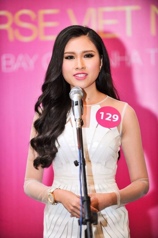 Vẻ gợi cảm của các hot girl VTV từng thi hoa hậu-4
