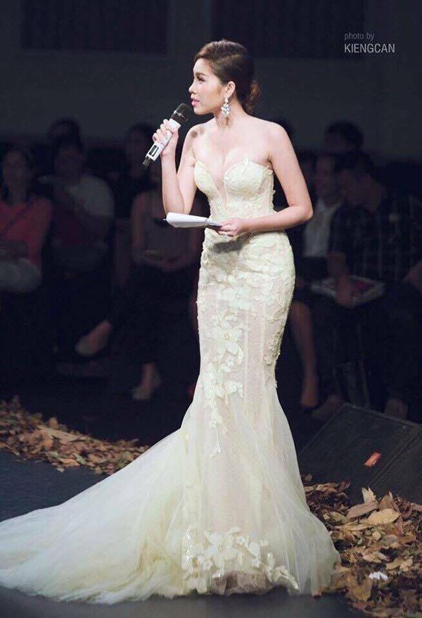 Vẻ gợi cảm của các hot girl VTV từng thi hoa hậu-5