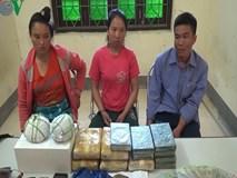 """3 """"đầu nậu"""" ma túy người Lào mang theo vũ khí nóng đi giao hàng"""