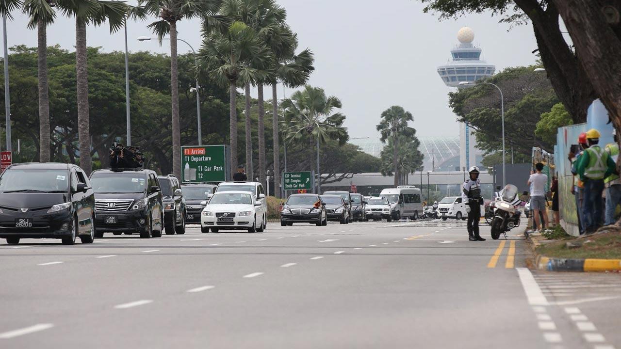 Hé lộ hành trình bí mật của chuyên cơ chở Kim Jong Un tới Singapore-2