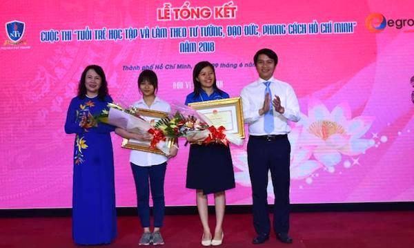 Học sinh lớp 11 đoạt giải nhất cuộc thi học tập và làm theo tư tưởng, đạo đức, phong cách Bác Hồ-1
